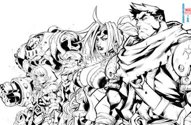 Battle Chasers by Edu and Rod