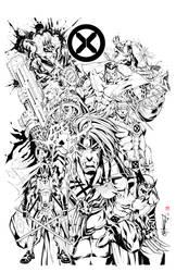 X-men by Chooko
