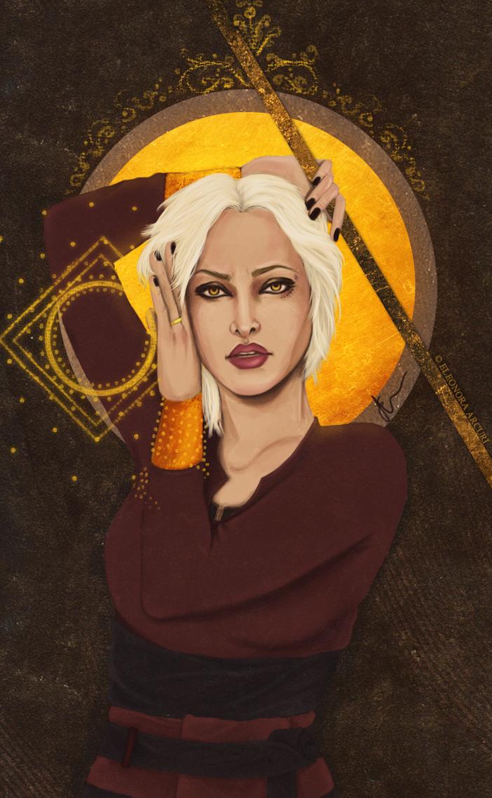 Evelyn Trevelyan Tarot by elyhumanoid