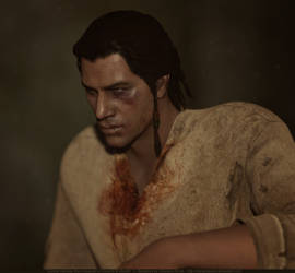 Connor Kenway - Bridewell Prison by hellenys