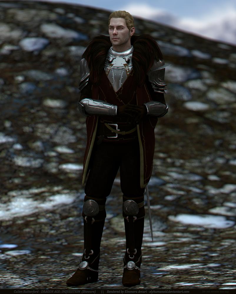 Commander Cullen by elyhumanoid