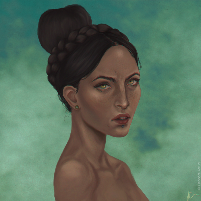 Josephine Montyliet (Concept Art vr.) by elyhumanoid