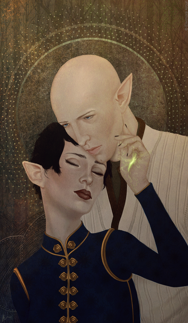 The Lovers by elyhumanoid