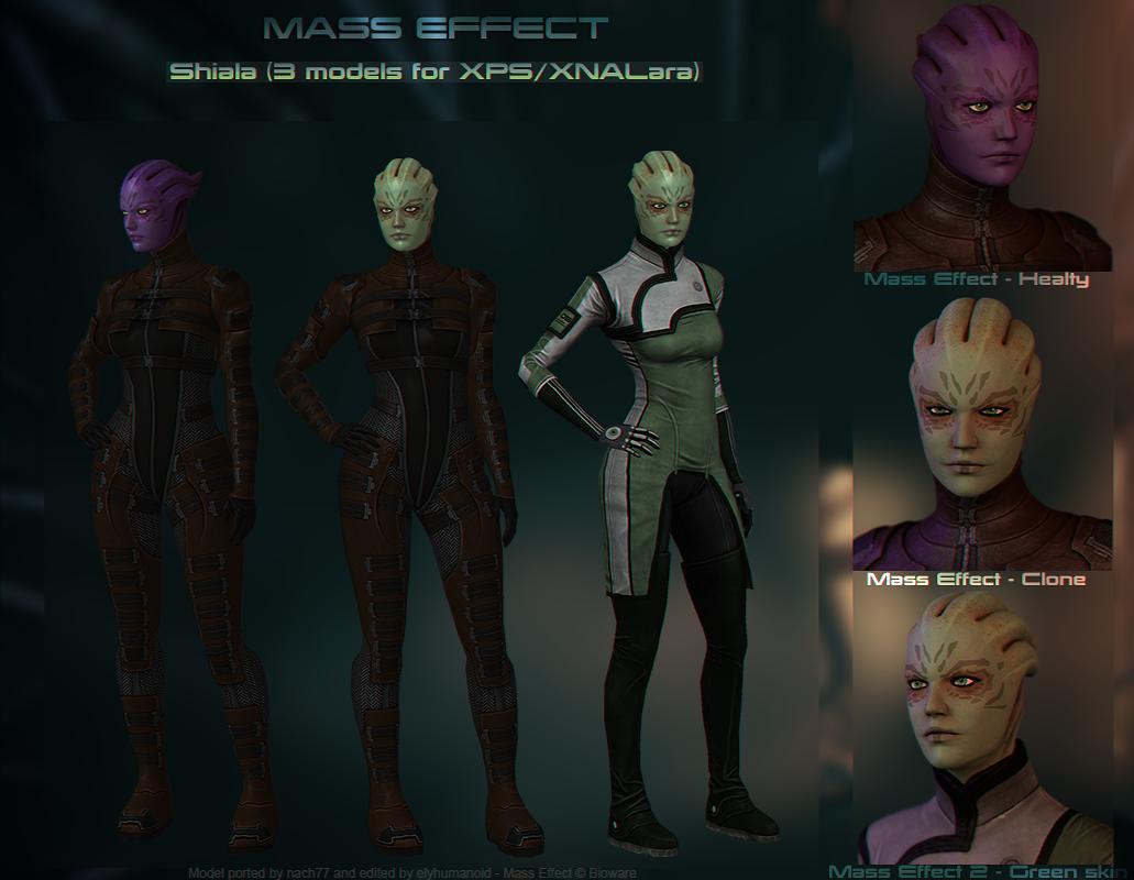 Shiala [Mass Effect] for XPS/XNALara