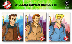Ghostbusters Trading Card Set Sketch Cards