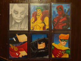 Sketch Cards for SALE