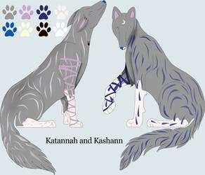 Katannah and Kashann by Tigger421