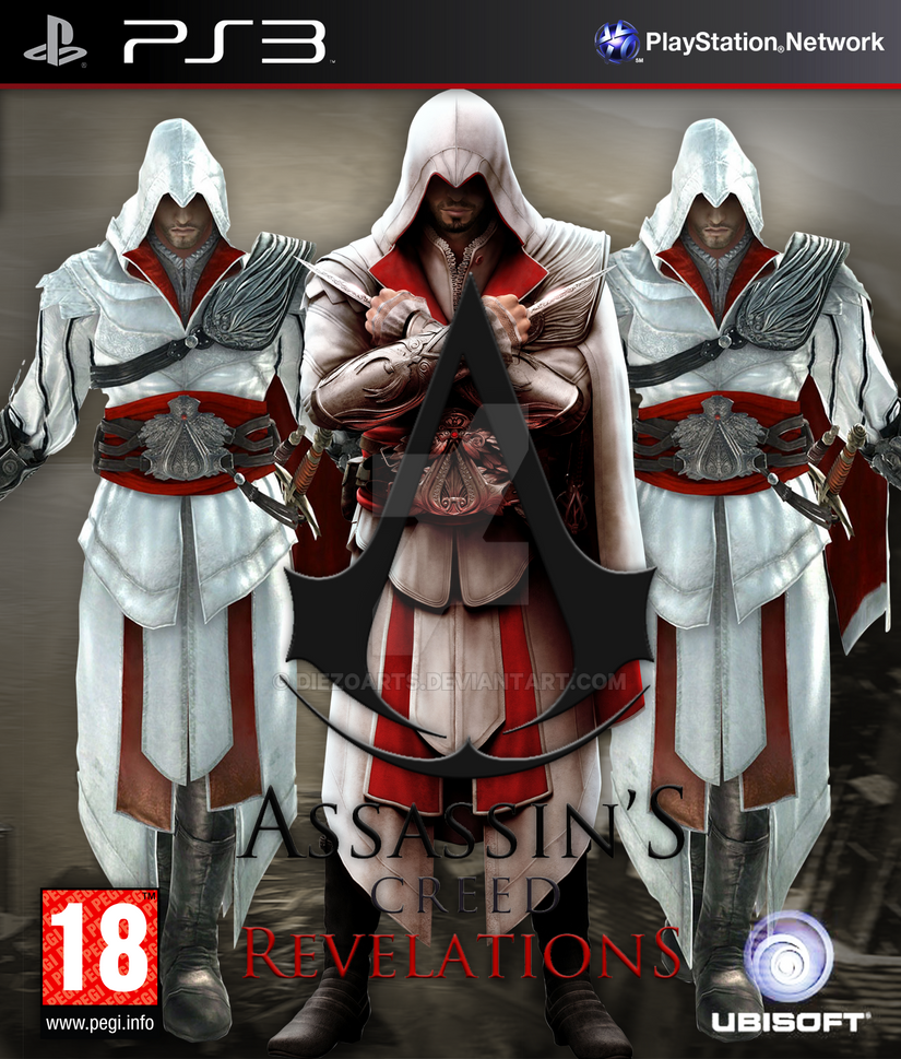 Assassins Creed Revelations PS3 Fan Made Cover by ...