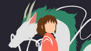 Spirited Away Minimalist by Yuki-Neh
