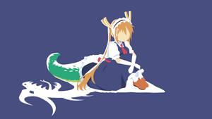 Tohru - Miss Kobayashi's Dragon Maid Minimalist v1 by Yuki-Neh