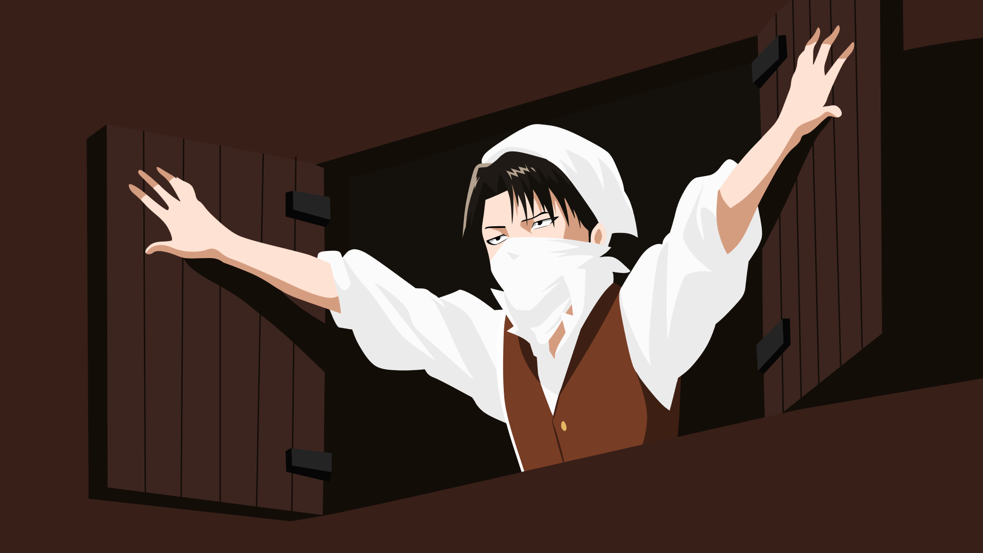 Levi Ackerman Attack On Titan Wallpaper By Yuki Neh On Deviantart