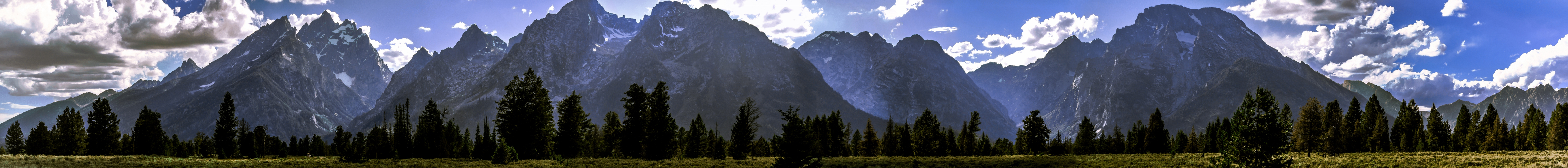 Grand Tetons Pano #4 by KRHPhotography