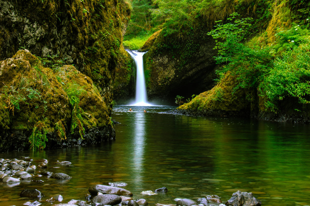 Punchbowl Falls by KRHPhotography
