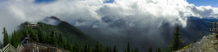 Sulphur Mountain by KRHPhotography
