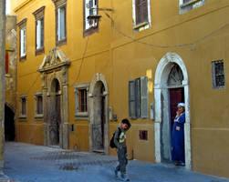Yellow House by Gazounette