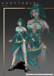 [ClosedAdoptable] : Meguz#Dragon Dancer by ImperiumAdoptStore