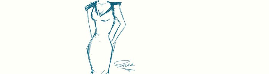 Evening dress by sara-hel