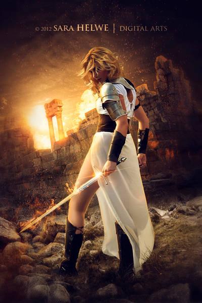 The Warrior by sara-hel