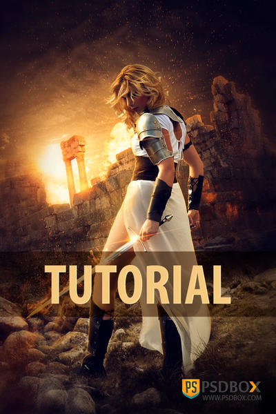 The Warrior Tutorial by sara-hel