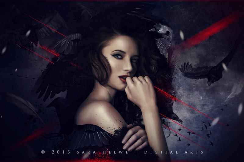 Raven queen by sara-hel