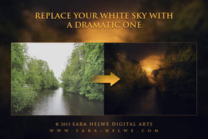 Replace your white sky with a dramatic one