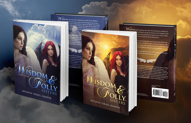 Wisdom and Folly Book Covers by sara-hel
