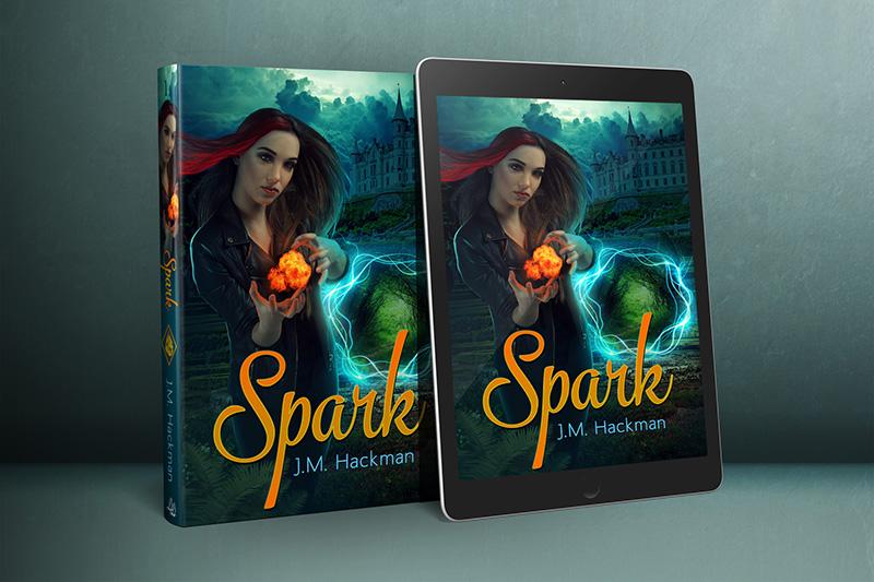 Spark Book Cover by sara-hel