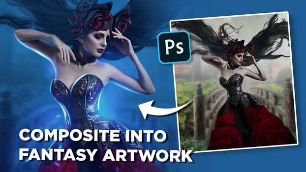 Turn your composite into a vibrant fantasy artwork