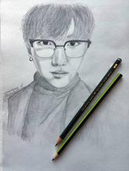 Yoongi by suganoodle