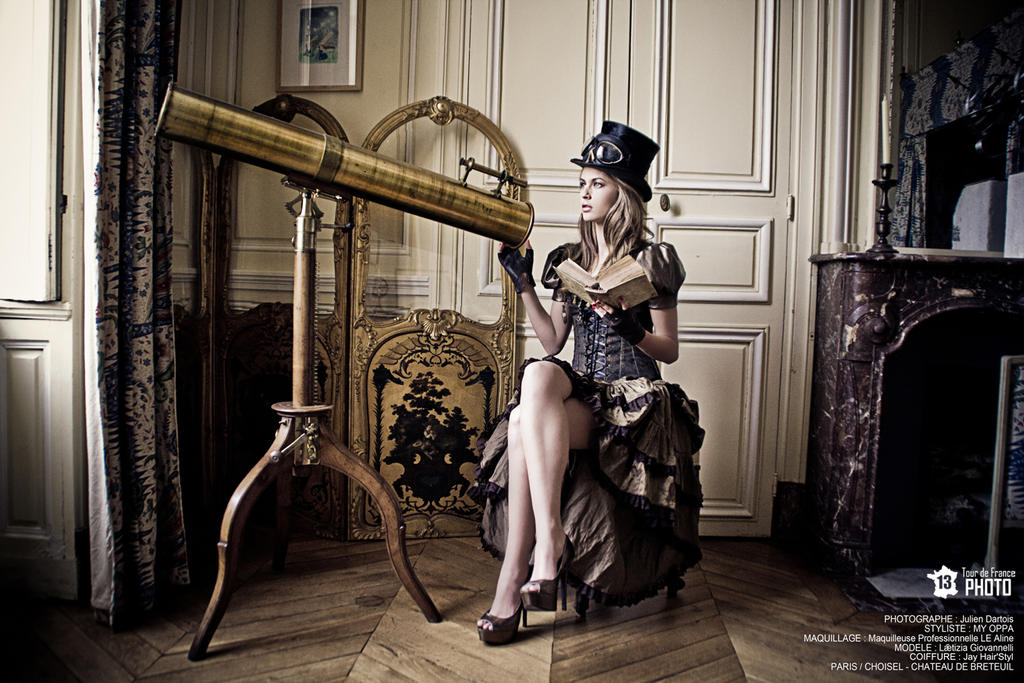 Shooting Steampunk by myoppa-creation