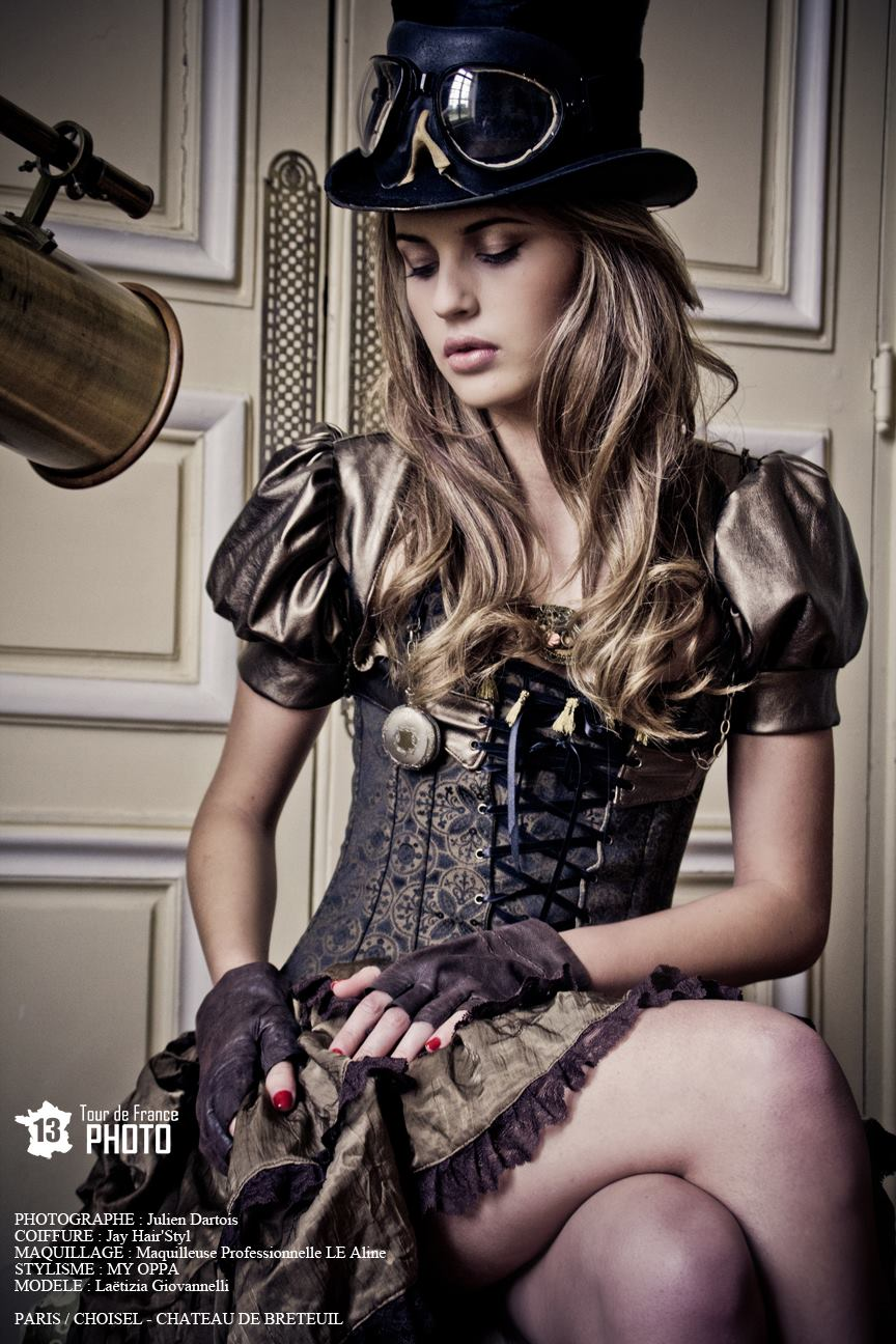 Steampunk Fashion by myoppa-creation