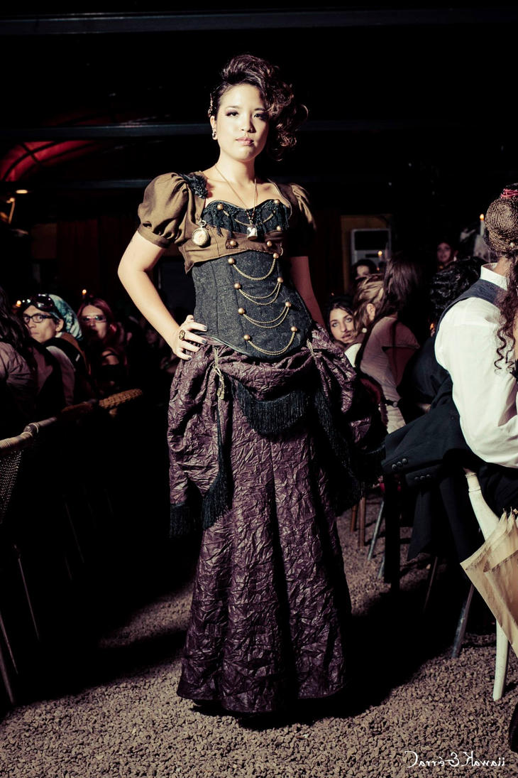 Fashion show steampunk by myoppa creation on deviantart for What is steampunk design