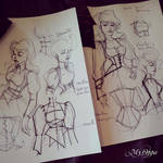 sketch steampunk My Oppa