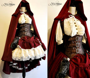 Little red riding hood steampunk by My Oppa