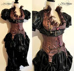 Burlesque feathers Steampunk