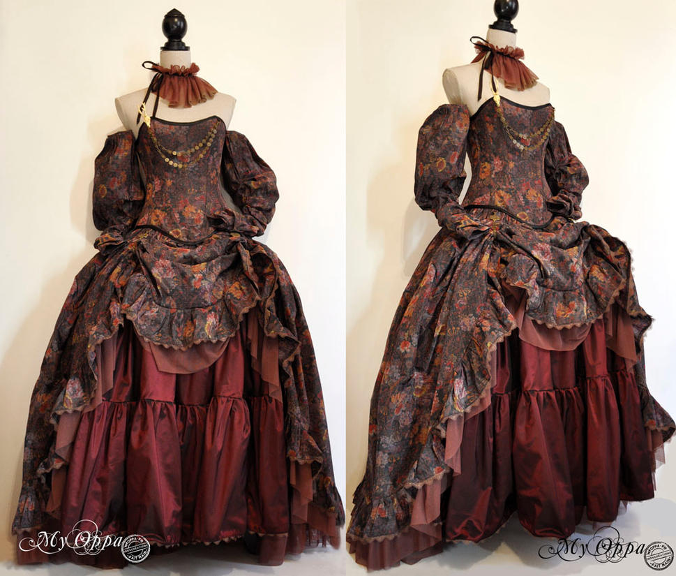 dress My oppa Mori/ steampunk by myoppa-creation