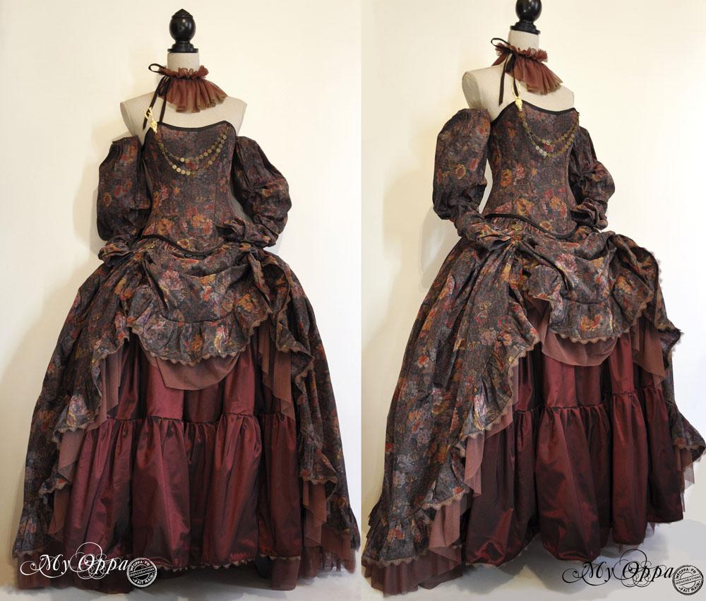 dress My oppa Mori/ steampunk by myoppa-creation