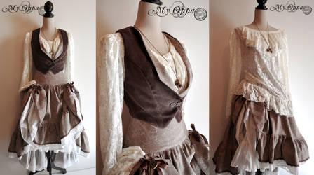Spring dress steampunk :D