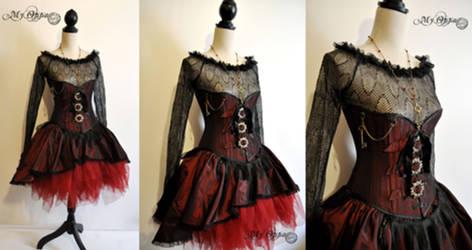 Creation steampunk romantique burlesque