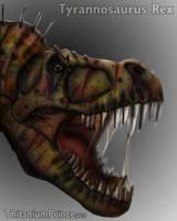 Tyrannosaurus Rex by ThitaniumPrince
