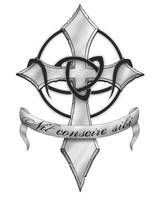 Cross Tattoo by Mancer