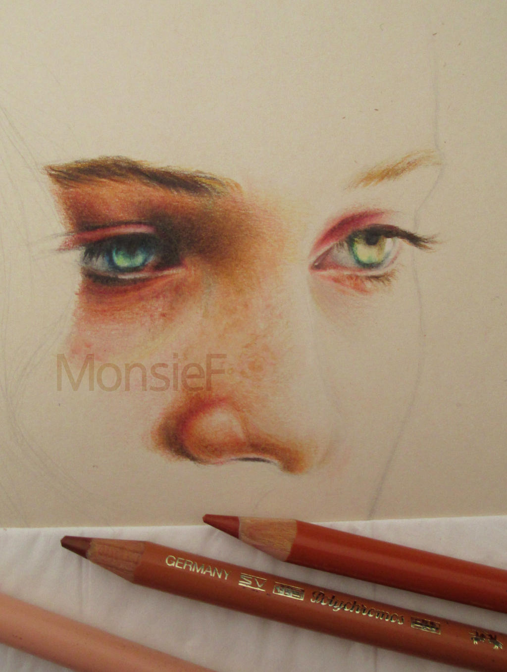 Sansa Stark - WIP by MonsieF