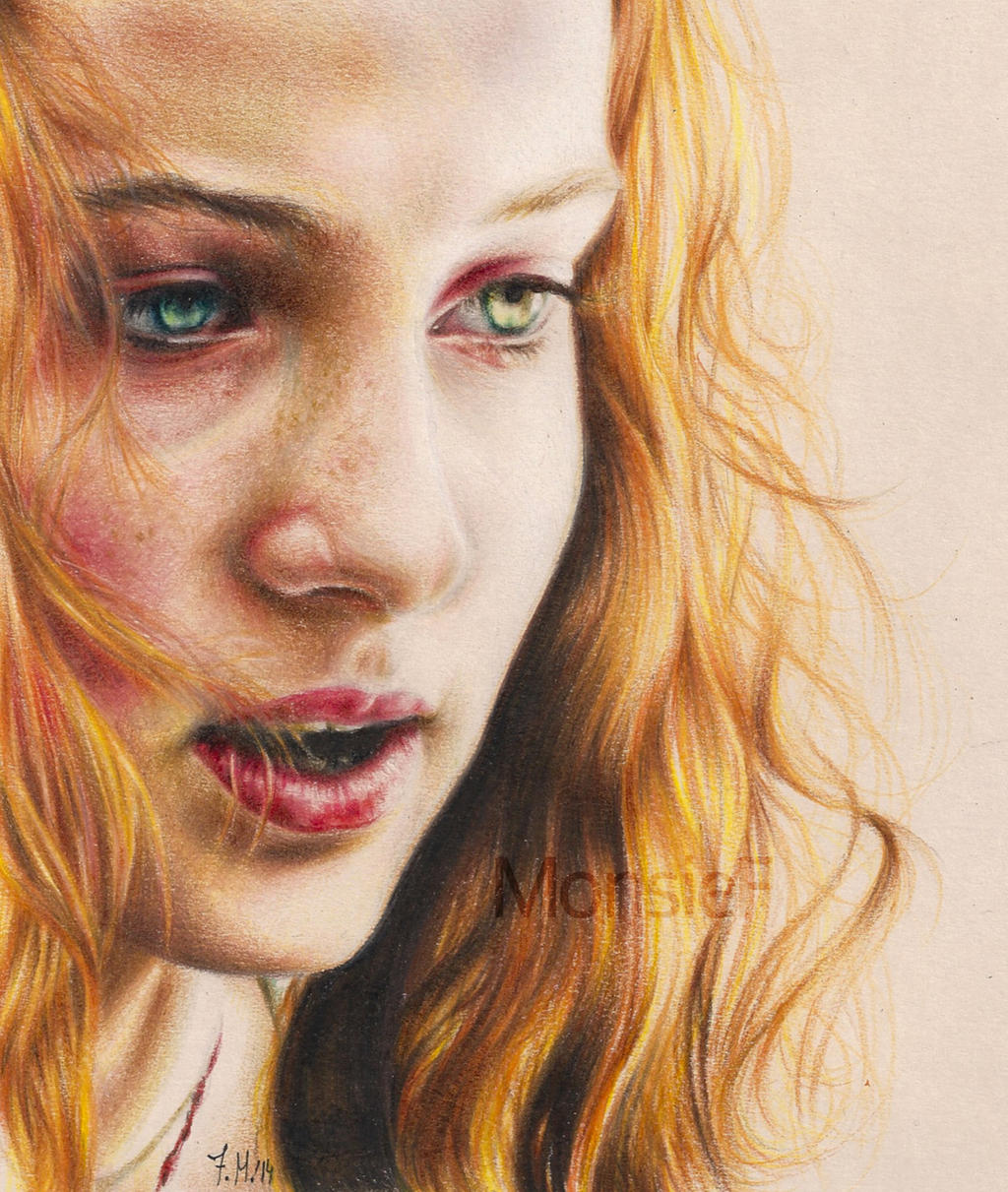 Sansa Stark by MonsieF