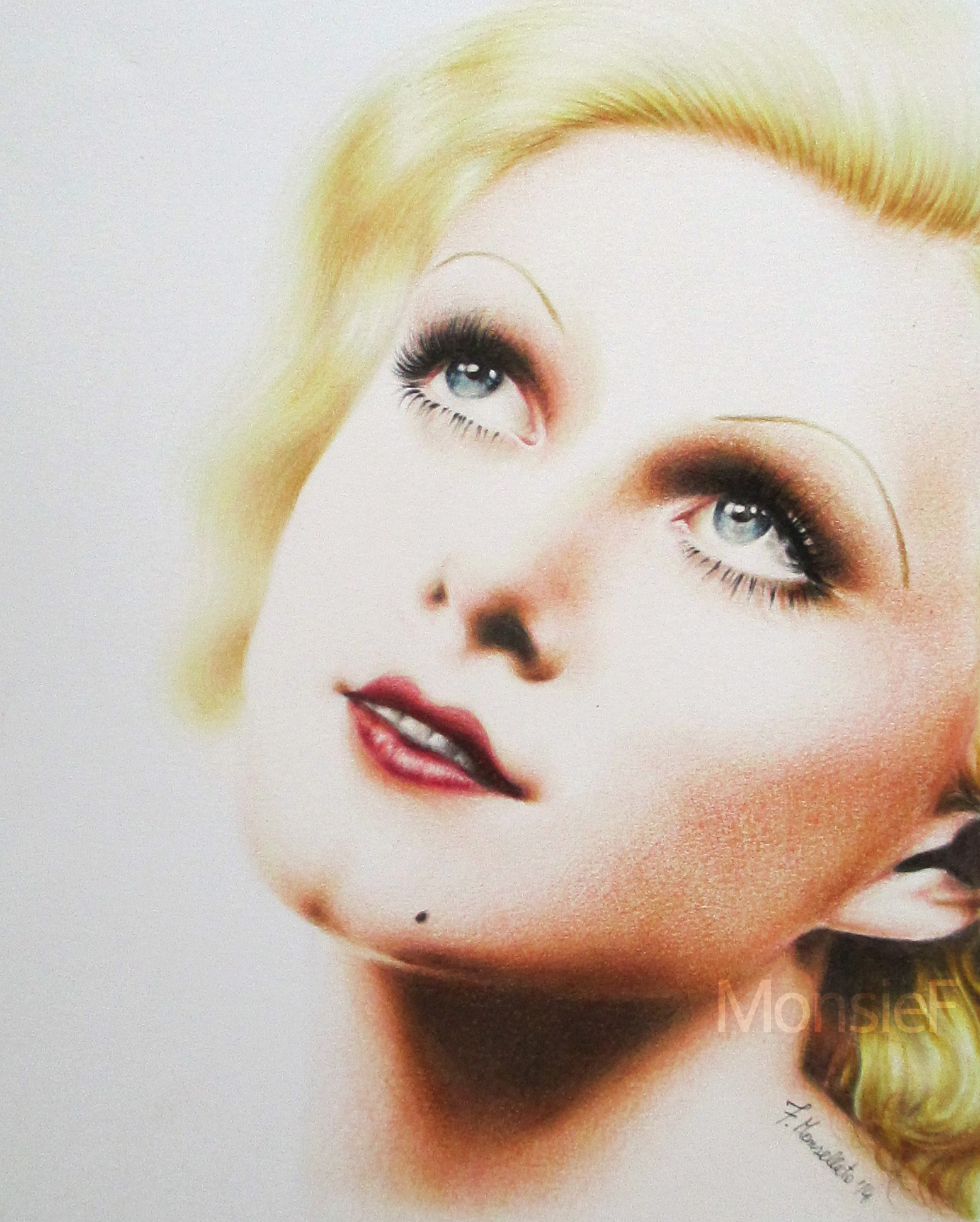 Jean Harlow by MonsieF