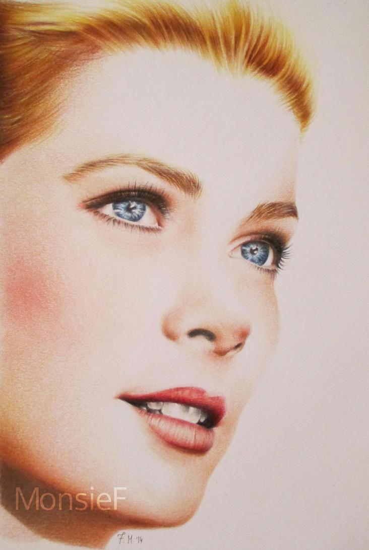 Grace Kelly by MonsieF