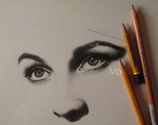 Vivien Leigh - WIP by MonsieF