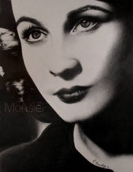 Vivien Leigh by MonsieF