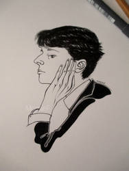 Aubrey Beardsley by MonsieF