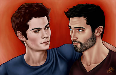 Derek and Stiles - Nothing Rhymes With Orange by xkxdx
