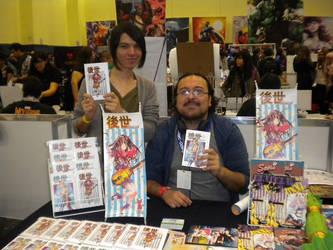 En La Mole Comic.con 2015 by 0Nakama-Studio0